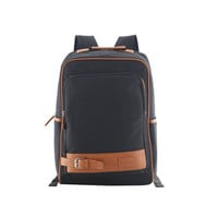 Unisex Canvas Leather High School Backpack Daypack Travel Bookbag