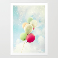 balloons Art Print by Sylvia Cook Photography