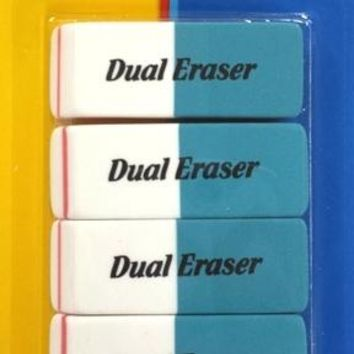 DUAL ERASERS Case Pack 48
