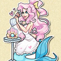 Sweet Siren ♥ Sticker from ♥ SUGARBONES ♥