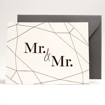 Wedding Collection: Mr. & Mr.