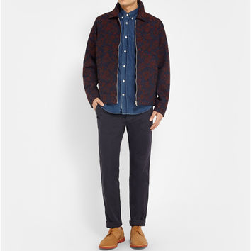 Our Legacy - Coach Embroidered Cotton-Blend Jacket | MR PORTER