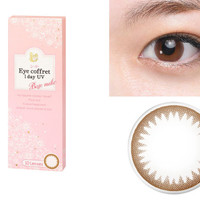 SEED Eye Coffret 1 Day UV Base Make (Brown) Circle Lens (10 Pcs)