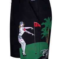 Pin High ProCool Golf Shorts (Black)