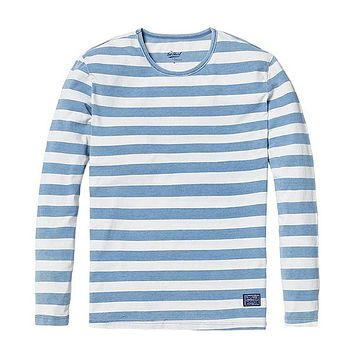 Men's Striped Long Sleeve Classic Top