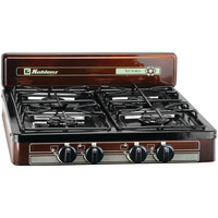 Koblenz 4-burner Outdoor Gas Stove Conector 3 And 8 Npt F-3 And 8