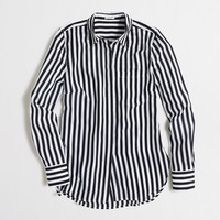 Factory printed classic dress blouse