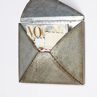 Welded Letter Holder by Anthropologie in Zinc Size: One Size Office