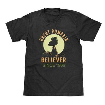 Great Pumpkin Believer Shirt Charlie Brown Available in Adult & Youth Sizes Add Any Year To It