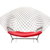 Knoll ® Replacement Seat Cushion for Bertoia Diamond Lounge Chair