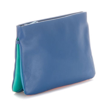 MYWALIT CLUTCH/CROSS BODY AQUA
