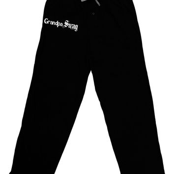 Grandpa Swag Text Adult Lounge Pants by TooLoud
