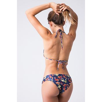 Tunas Low Rise Cheeky Bikini Bottom - Koi Fish