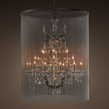 Vaille Crystal Chandelier Extra- Large