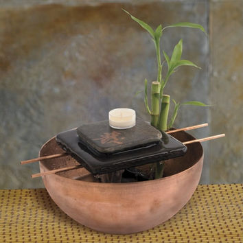 Zen Fountain - Indoor Tabletop and Desktop Fountains - Gaiam