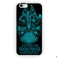 Star Wars Millenium Falcon Movie For iPhone 6 / 6 Plus Case