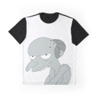 'Hello Smithers' Graphic T-Shirt by FlyNebula