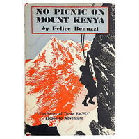 No Picnic on Mount Kenya Book