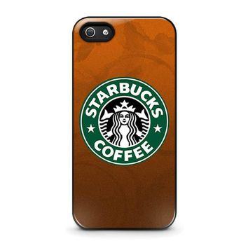 starbucks iphone 5 5s se case cover  number 1