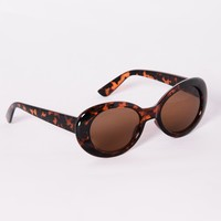 Posh Sunglasses - Tortoise/Brown