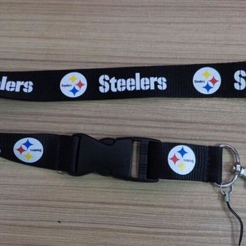 1pc/lot Pittsburgh Steelers lanyards keychain for teenagers especially for sports men