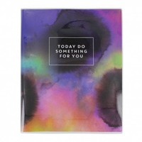 Do something for you large plastic notebook - NEW - Stationery - New for Autumn