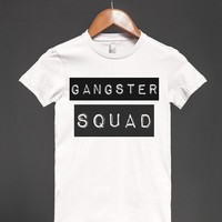 GANGSTER SQUAD (WHITE TEE)