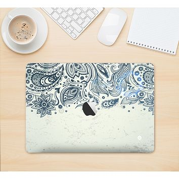 "The Vintage Tan & Black Top Swirled Design Skin Kit for the 12"" Apple MacBook"