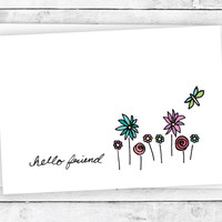A Dragonfly in the Garden - Hello Greeting Cards