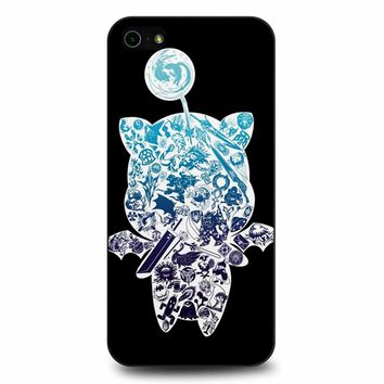 Final Fantasy Moogle-Verse iPhone 5/5s/SE Case