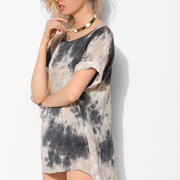 Moon And Sky Tie-Dye Tee Dress - Urban Outfitters