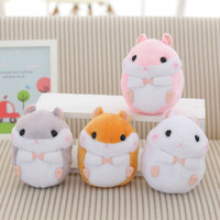 1PCS 18cm doll simulation hamsters hamster mini plush toys cute hamster toys children girls gift free shipping