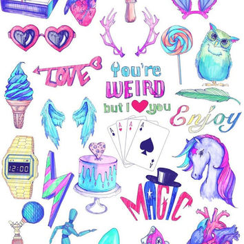 image about Tumblr Stickers Printable titled Tumblr Classy Printable Aesthetic Stickers