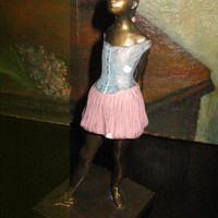 Little Dancer Russian S Eylanbekav Polychrome Figure Degas Inspiration Alva