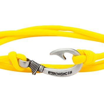 Yellow Fish Hook Bracelet