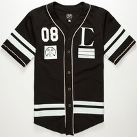 Civil Regime Mens Baseball Jersey Black  In Sizes