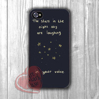 The Little Prince stars quote -d4n for iPhone 6S case, iPhone 5s case, iPhone 6 case, iPhone 4S, Samsung S6 Edge