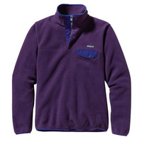 Patagonia Synchilla Lightweight Snap-T Fleece Pullover - Women's, 47436 | Women's Sweaters & Sweatshirts | Women's Clothing | CLOTHING | items from Campmor.