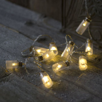 Star In A Jar LED Light Garland