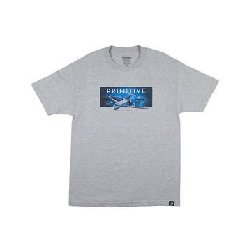 FIRST CLASS TEE - ATHLETIC-HEATHER