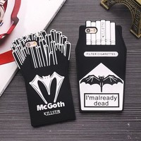 3D Bat French Fries & Cigarette iPhone Cases