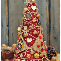 Christmas tree handmade home decor