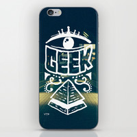 GEEK iPhone & iPod Skin by ユミタロ