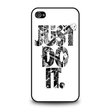 NIKE JUST DO IT TYPE iPhone 4 / 4S Case