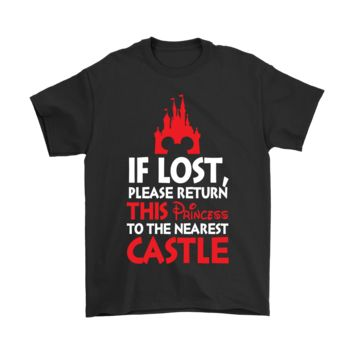 DCCKON7 If Lost Please Return This Princess To The Nearest Castle Shirts