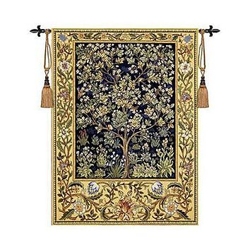 Tree of Life Medieval Moroccan Wall Tapestry