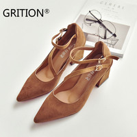 GRITION Sexy Women Shoes Red Bottom High Heels Red Heart Shape Sweet Ladies pumps Sandals Women Black White Zapatos Mujer