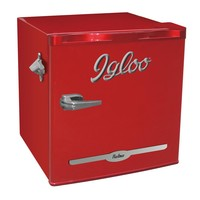 IGLOO 1.6 cu. ft. Mini Refrigerator in Red-FR176-RED - The Home Depot