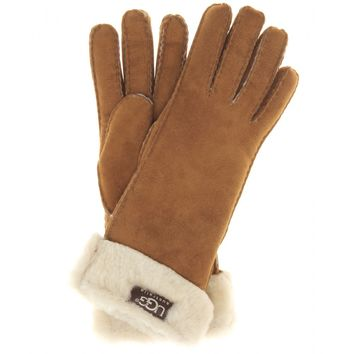 ugg australia - turn cuff shearling gloves