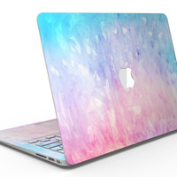 Washed Pink 4 Absorbed Watercolor Texture - MacBook Air Skin Kit